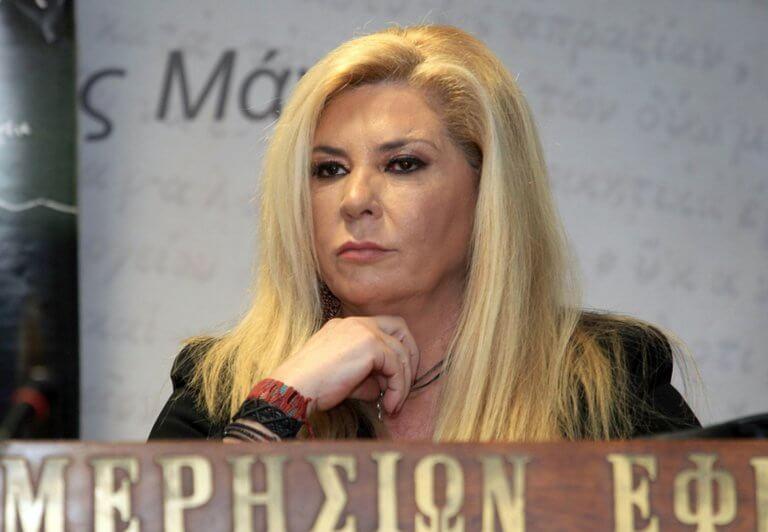 Δήμητρα Λιάνη: 18 μήνες φυλακή για χρέη στο Δημόσιο!