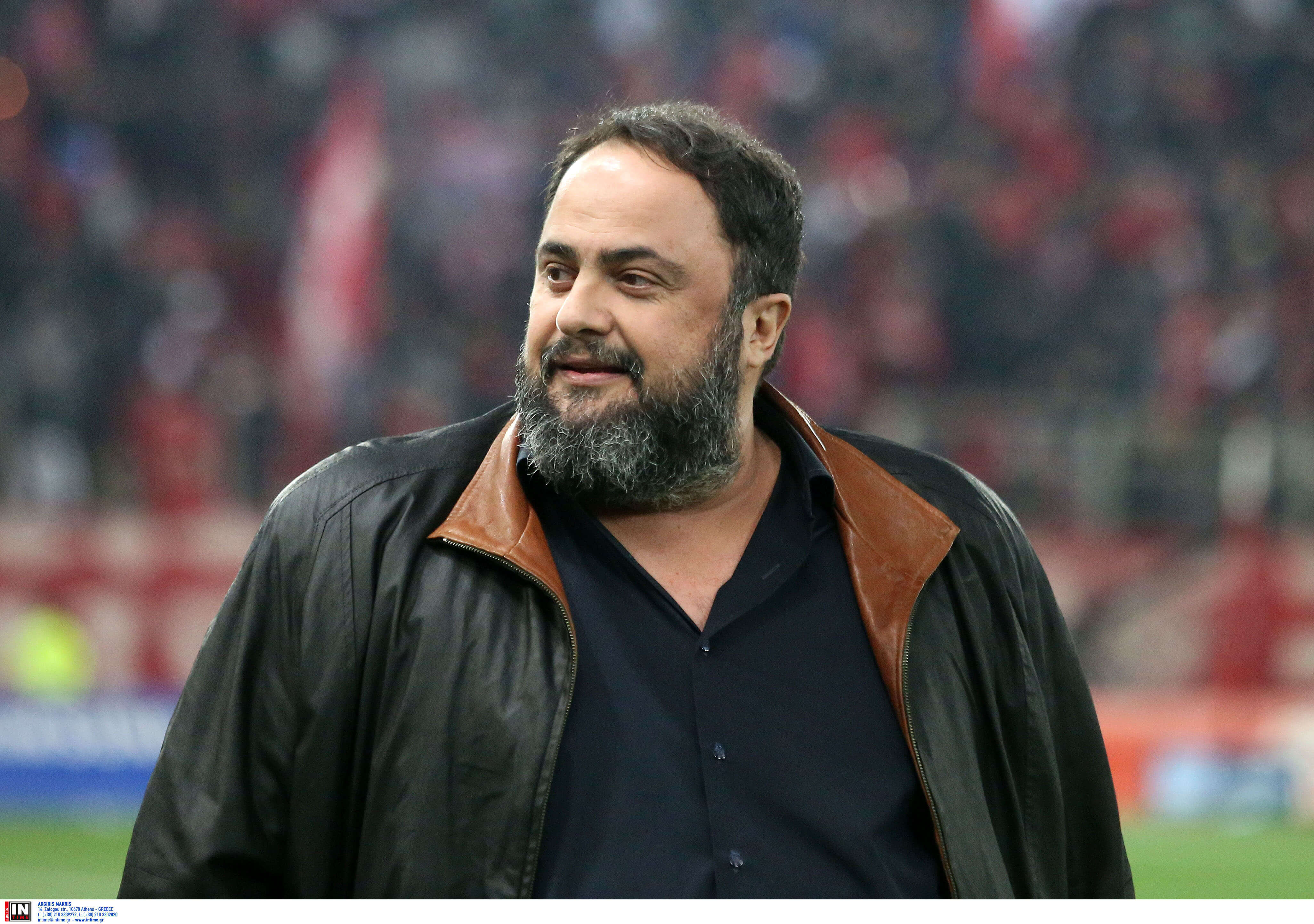 """Μαρινάκης: """"Ζήτω ο Ολυμπιακός! Θα συνεχίσουμε να προσφέρουμε στην πατρίδα"""""""