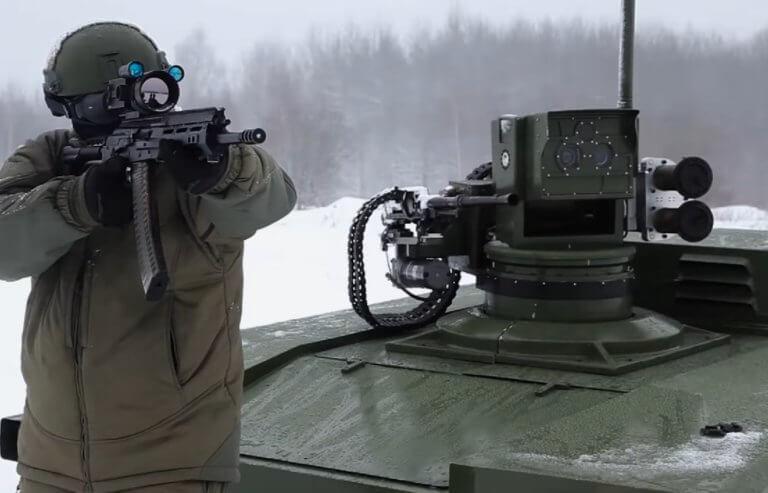 """Αυτό είναι το νέο άρμα μάχης- ρομπότ που θα κάνει τον ρωσικό στρατό """"ανίκητο""""! [vid]"""