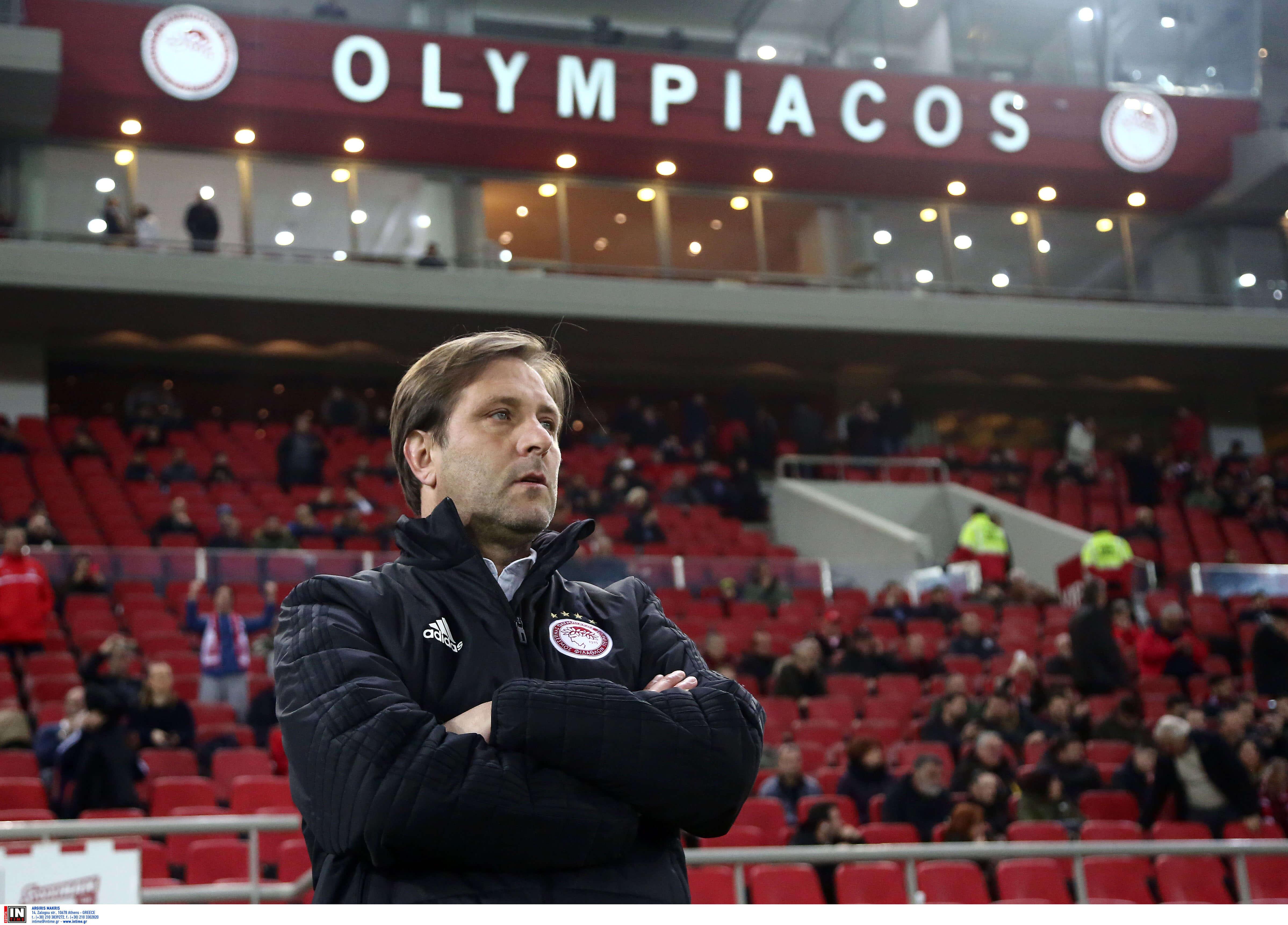 """Ολυμπιακός – Μαρτίνς: """"Δεν θα αλλάξουν πολλά στο ρόστερ για του χρόνου"""""""