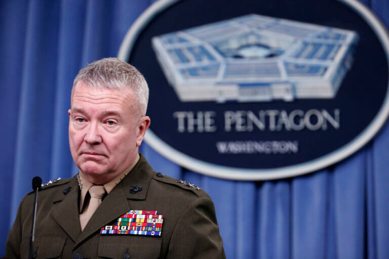 ΗΠΑ: Ο στρατηγός Μακένζι είναι νέος επικεφαλής των επιχειρήσεων στη Μέση Ανατολή
