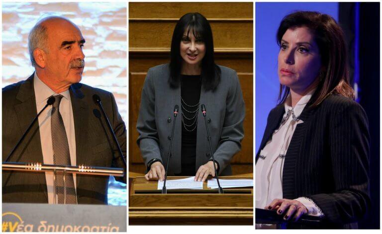 Μεϊμαράκης – Ασημακοπούλου «αδειάζουν» την κυβέρνηση για την «τροπολογία Κουντουρά»