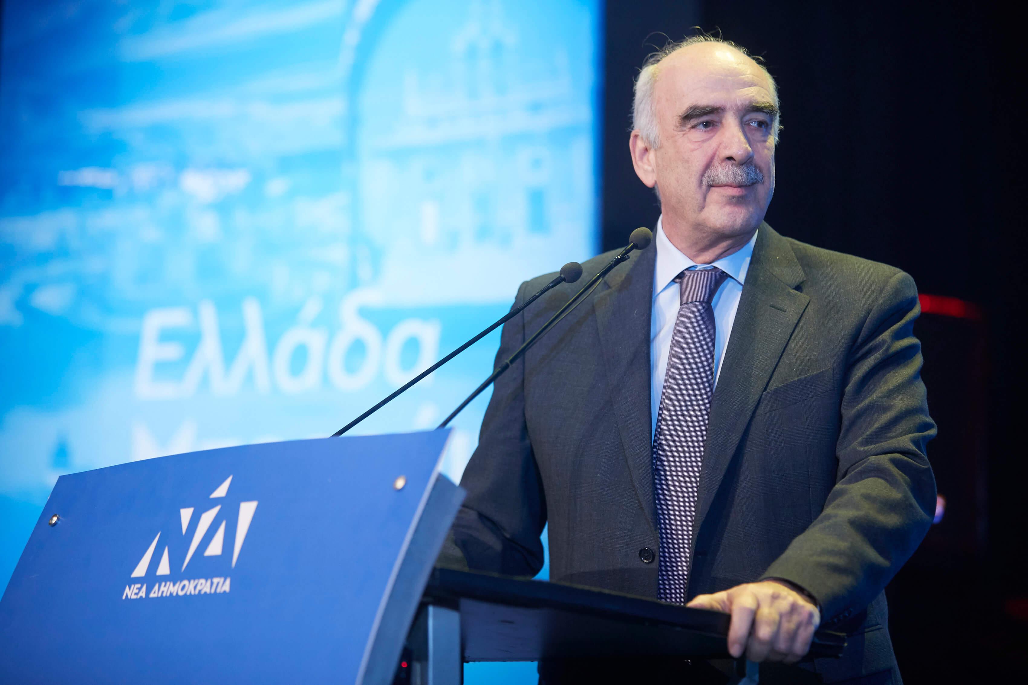 Ευρωεκλογές – Μεϊμαράκης: Η συμμετοχή μου μπορεί να συσπειρώσει Νεοδημοκράτες και όχι μόνο