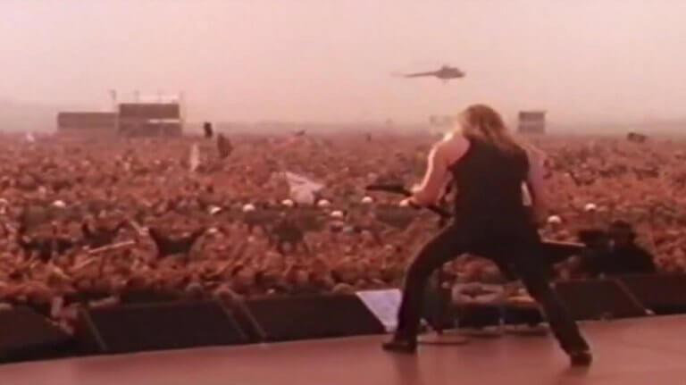 Αυτή ήταν η τεράστια συναυλία των Metallica στη Σοβιετική Ένωση με 1,5 εκατομμύριο κόσμο! [video]