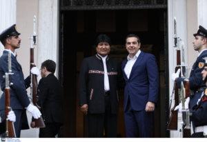 Τσίπρας σε Μοράλες: Φίλε Πρόεδρε της Βενεζου… Βολιβίας