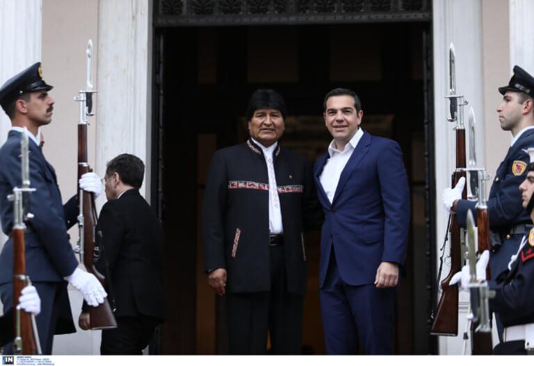 Τσίπρας σε Μοράλες: Φίλε Πρόεδρε της Βενεζου… Βολιβίας | Newsit.gr