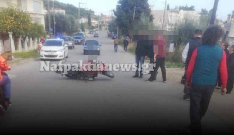 Ναύπακτος: Τροχαίο ατύχημα στο Στενό
