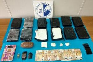Θα «έσπρωχνε» 13 κιλά κοκαΐνη – Χειροπέδες σε 34χρονο