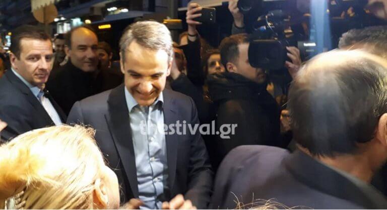 «Να τος! Να τος! Ο πρωθυπουργός» – Θερμή υποδοχή Μητσοτάκη στη Θεσσαλονίκη!