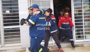 Ναύπλιο: Τραυματισμός πυροσβέστη κατά την διάρκεια άσκησης [pics]