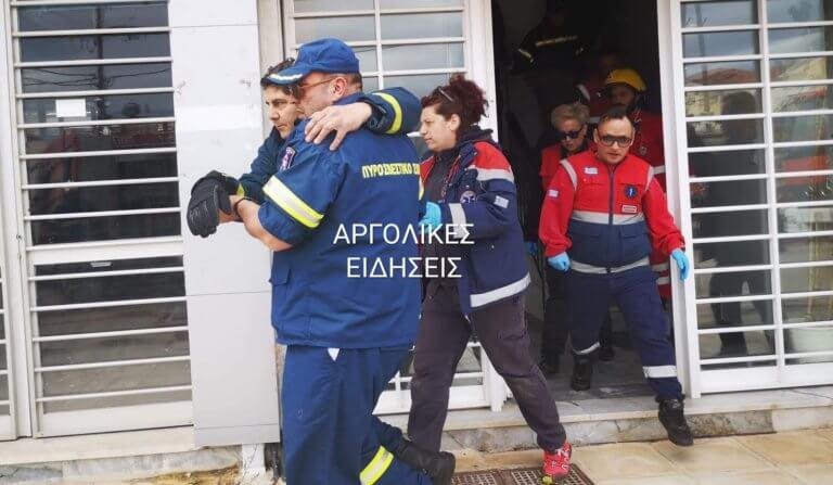 Ναύπλιο: Τραυματισμός πυροσβέστη κατά την διάρκεια άσκησης [pics] | Newsit.gr