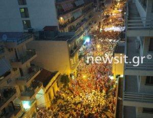 Πατρινό Καρναβάλι: Χαμός στην νυχτερινή παρέλαση! video