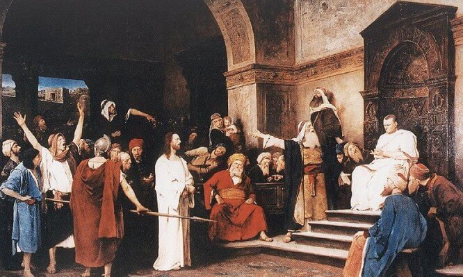 Σε ποια γλώσσα μίλησαν ο Πόντιος Πιλάτος με τον Χριστό