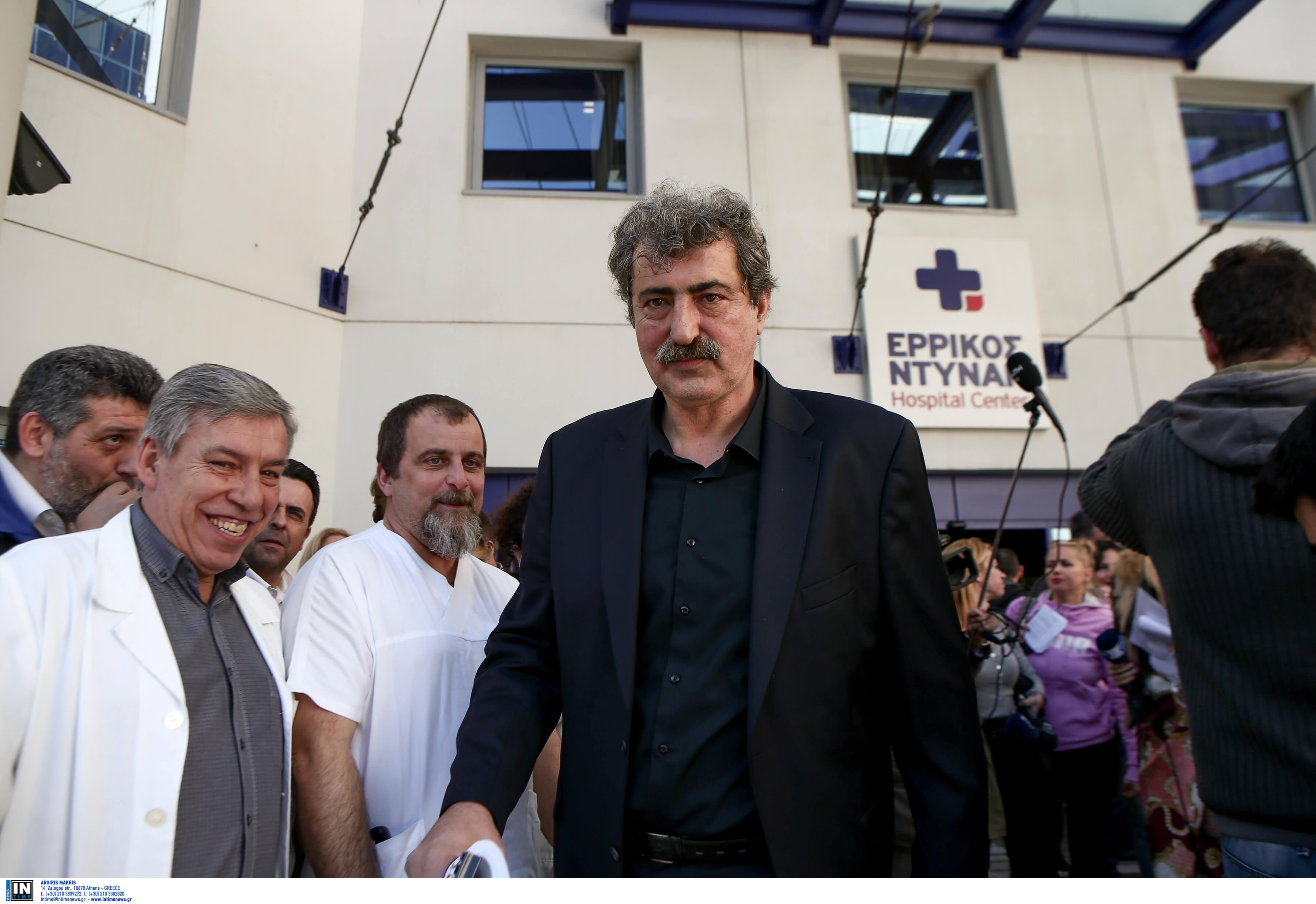 """Πολάκης: Πολιτική απόφαση η επιστροφή του """"Ερρίκος Ντυνάν"""" στο ΕΣΥ"""