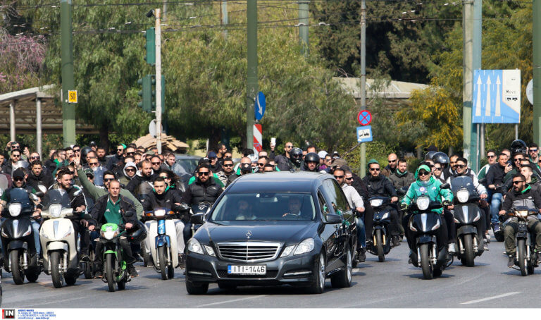 Κηδεία Θανάση Γιαννακόπουλου: Το τελευταίο «αντίο» στον «τυφώνα»!