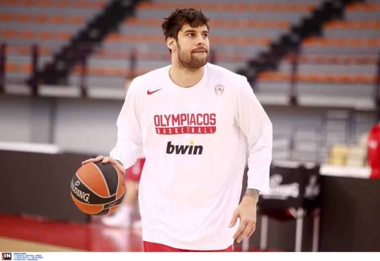 Ολυμπιακός – Ζαλγκίρις: Πρόβλημα και με Πρίντεζη!