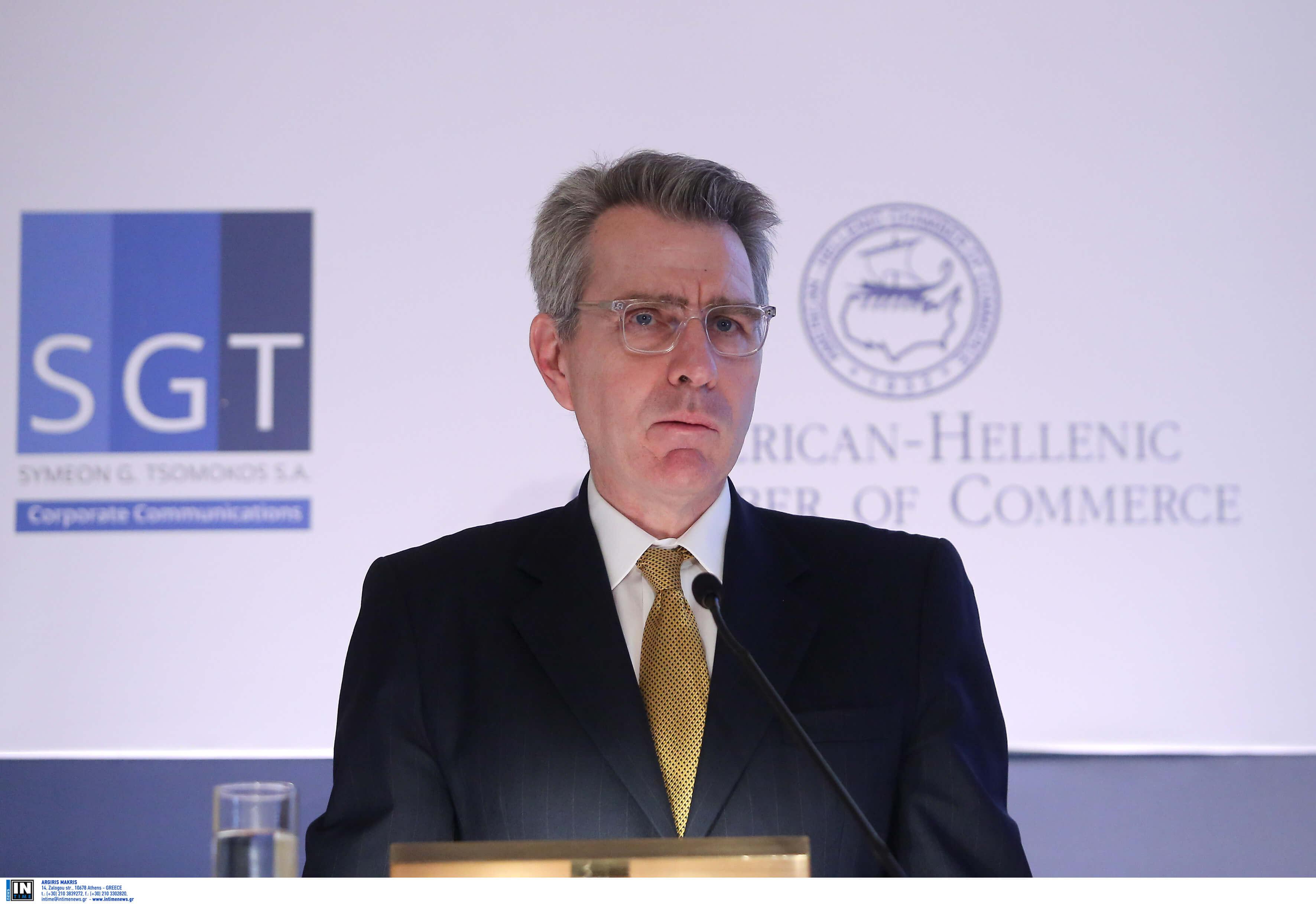 Αμερικανός πρέσβης: Παρερμηνεύθηκαν οι δηλώσεις μου για προσπάθεια της Ρωσίας να επηρεάσει τις εκλογές