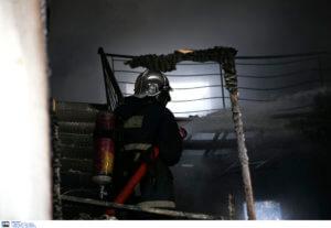 Φωτιά σε μονοκατοικία στις Αχαρνές – Ένας νεκρός!