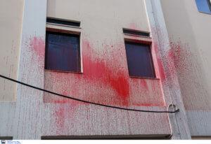 Καταδρομική επίθεση σε εταιρία στο Χαλάνδρι [pics]
