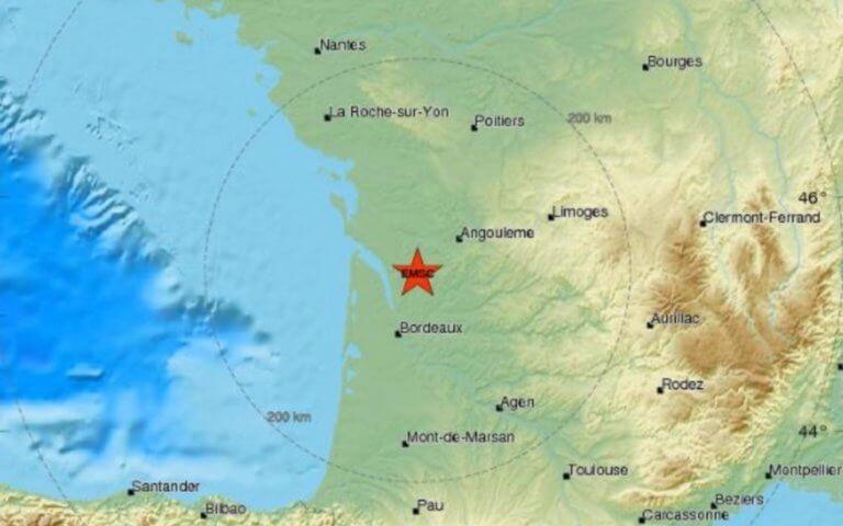 Σεισμός ΤΩΡΑ στη Γαλλία!