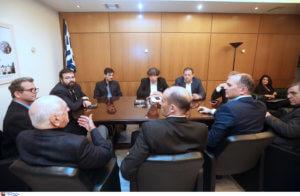 Γιαννακόπουλος – Αγγελόπουλοι: Επεισόδιο στη σύσκεψη! Καταγγελίες για σπρωξίματα, απειλές και φτυσιές