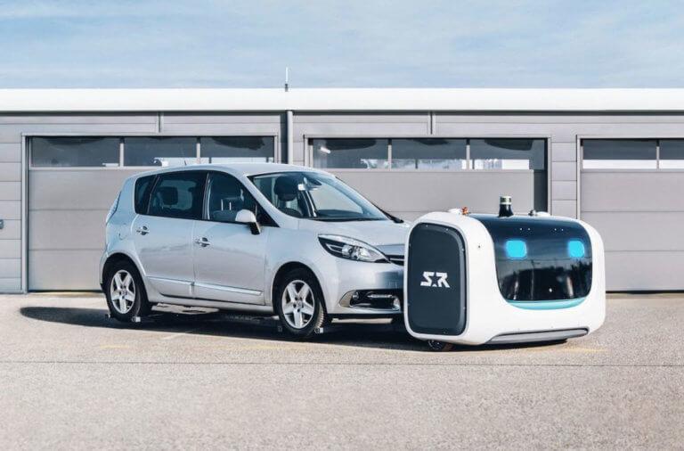 Στο αεροδρόμιο της Λυών οι παρκαδόροι είναι ρομπότ! [vid]