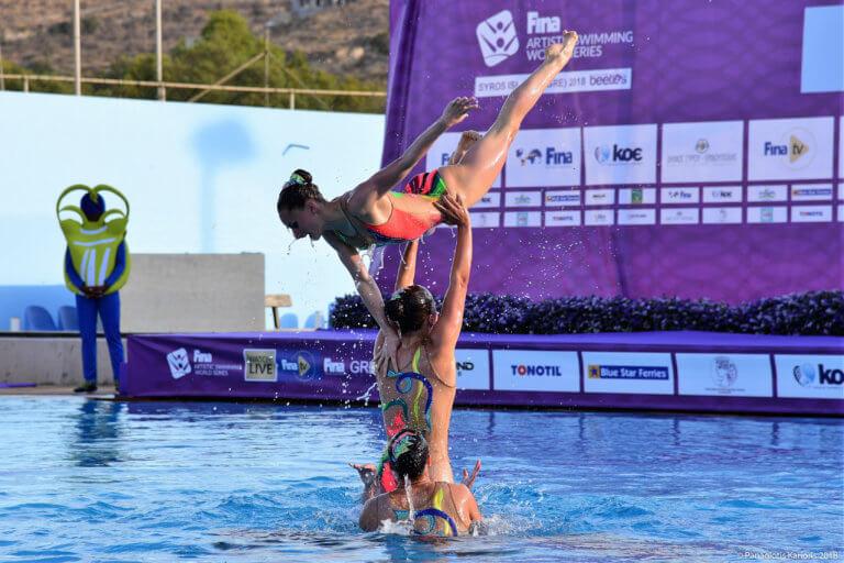 Το μεγάλο meeting Καλλιτεχνικής Κολύμβησης στην Αλεξανδρούπολη