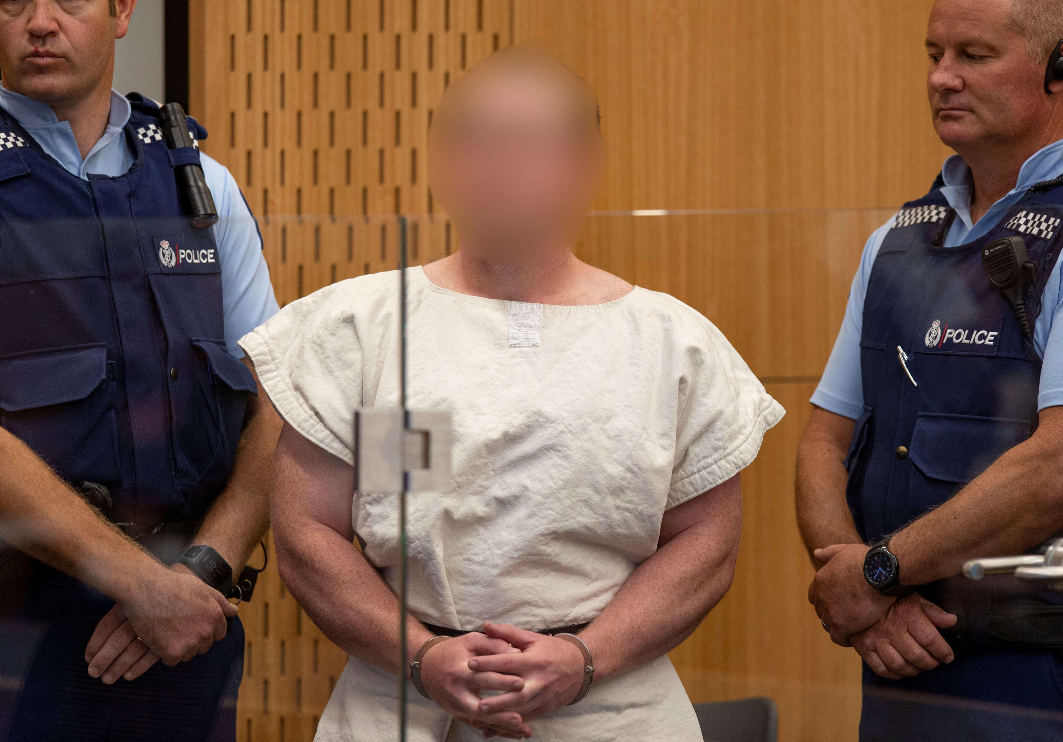 Δεν θα τον δει κανείς! Χωρίς κάλυψη η νέα εμφάνιση στο δικαστήριο του μακελάρη της Νέας Ζηλανδίας