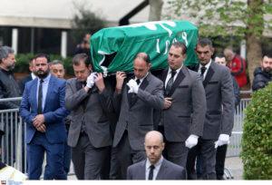 Θανάσης Γιαννακόπουλος: Με τη σημαία του Παναθηναϊκού στο φέρετρο! [pics]