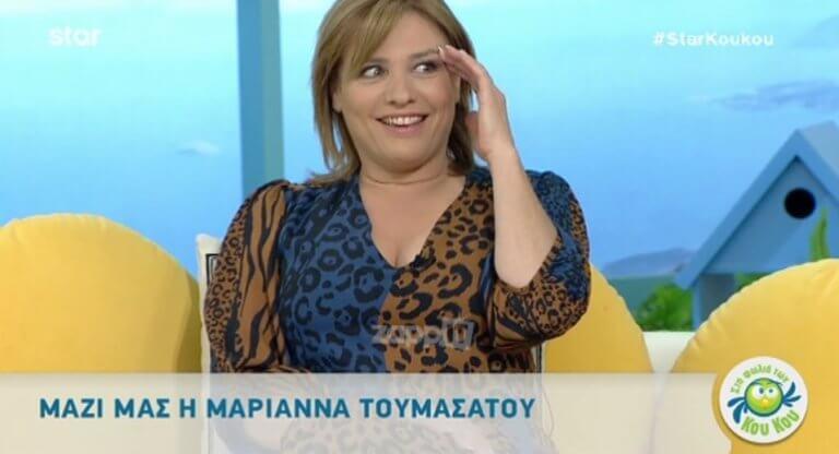 Μαριάννα Τουμασάτου: Η αντίδραση της όταν είδε τον εαυτό της στην πρώτη της τηλεοπτική εμφάνιση πριν 27 χρόνια!