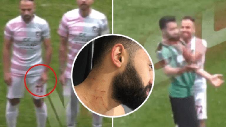 Σοκ στην Τουρκία! Ποδοσφαιριστής με λεπίδα στο γήπεδο – video | Newsit.gr