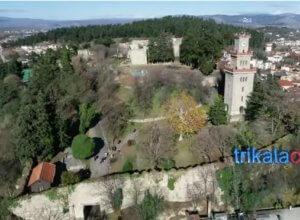 Τρίκαλα: Το εκπληκτικό Φρούριο με το ρολόι – Εικόνες που κόβουν την ανάσα [vid]