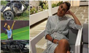 Σοκάρουν οι φωτογραφίες από το τροχαίο που πήρε τη ζωή της Εύας Πετροχείλου