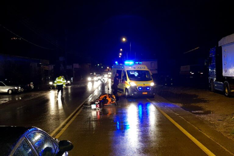 Θεσσαλονίκη: Θρήνος για νεαρό μοτοσικλετιστή που ξεψύχησε στην άσφαλτο!