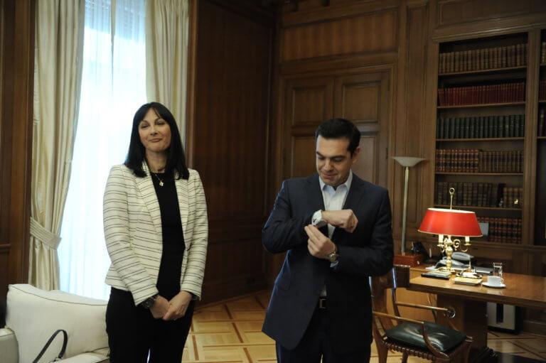 Έλενα Κουντουρά για υποψηφιότητά της: Ευχαριστώ τον πρωθυπουργό