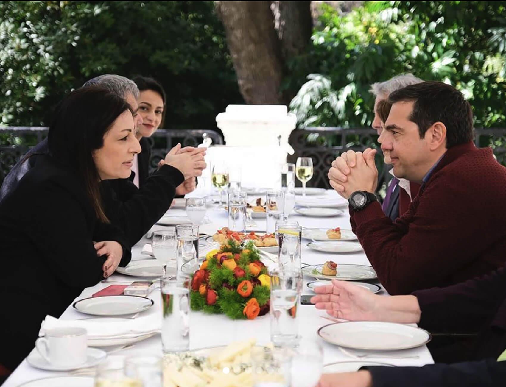 Στα χέρια του Αλέξη Τσίπρα η τύχη της Μυρσίνης Λοΐζου - Παραιτήθηκε με επιστολή της από υποψήφια ευρωβουλευτής του ΣΥΡΙΖΑ