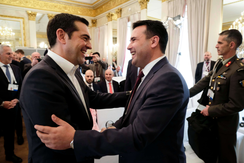 Ζάεφ: Η Βόρεια Μακεδονία θα έχει τεράστια οικονομικά οφέλη από τη συμφωνία των Πρεσπών