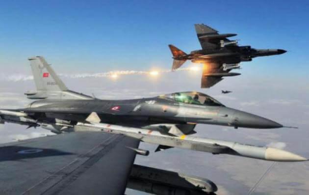 Αιγαίο: Νέες παραβιάσεις του ελληνικού εναέριου χώρου από Τουρκικά μαχητικά