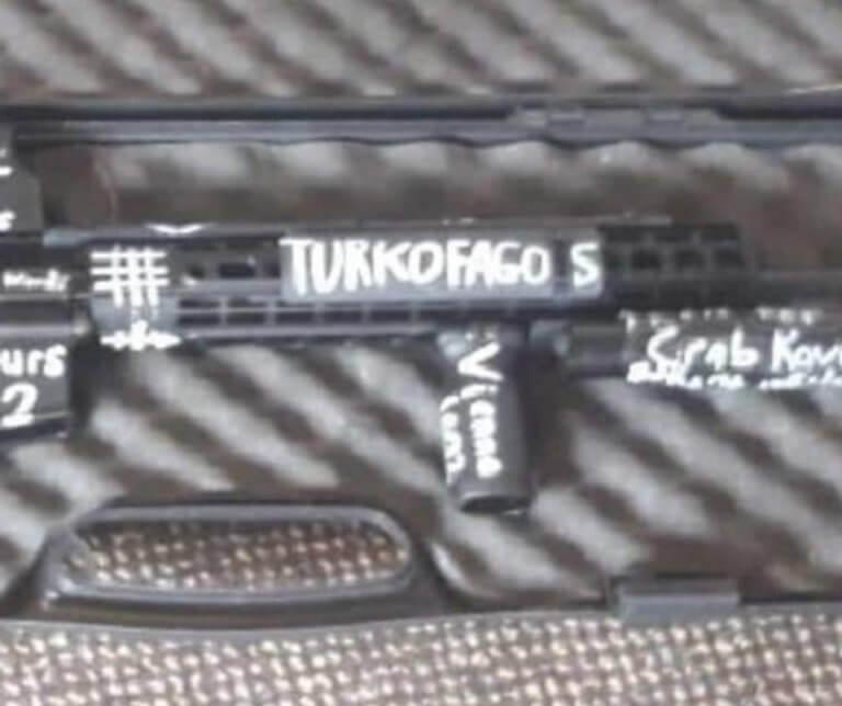 Νέα Ζηλανδία: Τη λέξη «Τουρκοφάγος» είχε γραμμένη στην κάννη του όπλου ο μακελάρης [pics] | Newsit.gr