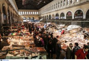 Πως θα λειτουργήσουν σήμερα και αύριο Καθαρά Δευτέρα η Βαρβάκειος και η αγορά του Ρέντη