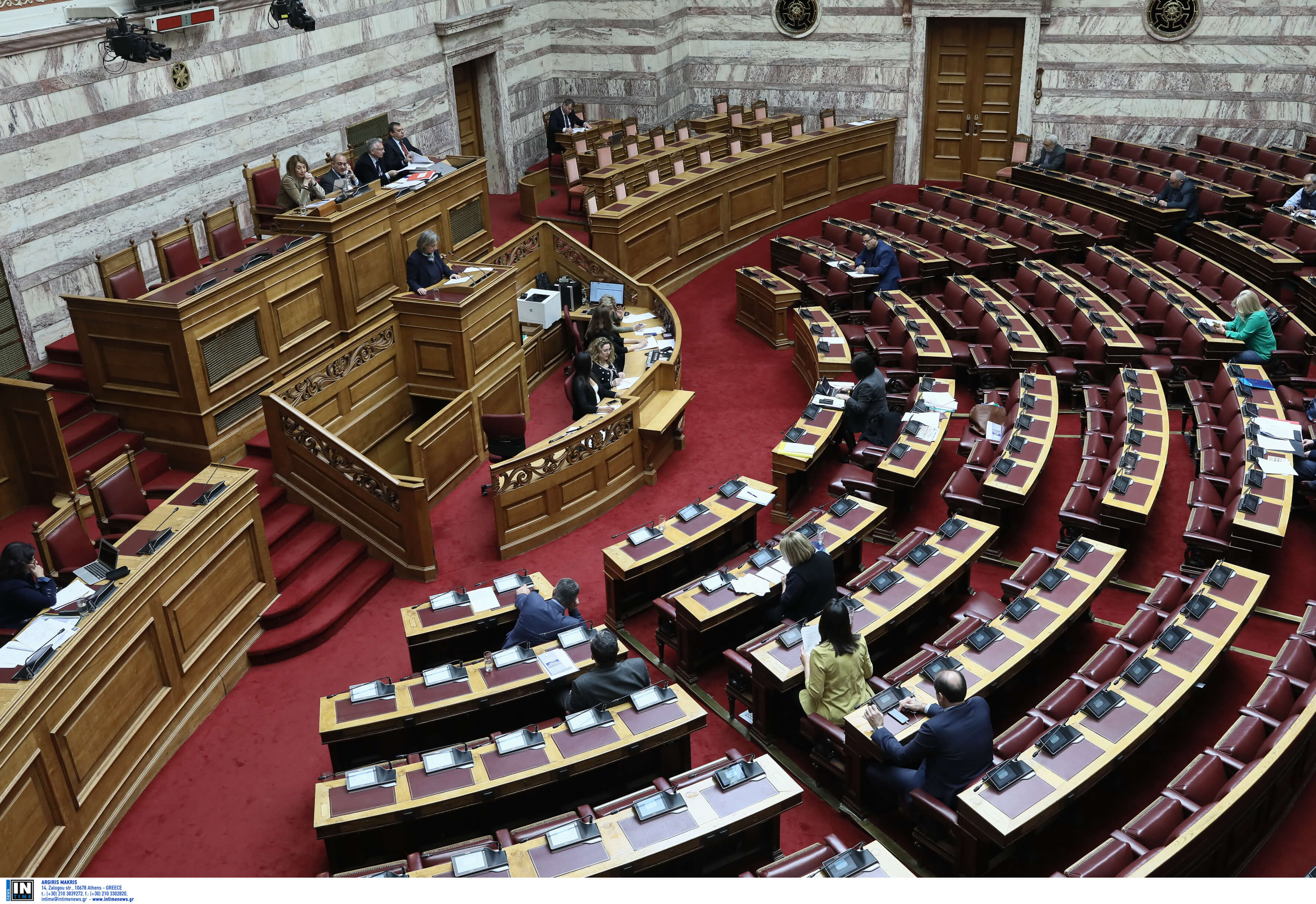 Live: Οι ομιλίες των πολιτικών αρχηγών στην Βουλή για το δημογραφικό