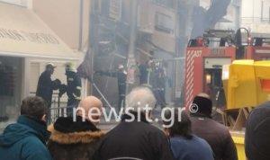 Χαλάνδρι: Φωτιά σε κατάστημα παιχνιδιών