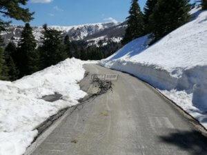 Χιονισμένη εικόνα στη Φθιώτιδα