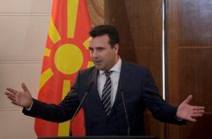 """Βόρεια Μακεδονία: """"Σφαγή"""" στο ντιμπέιτ Ζάεφ – Μίτσκοσκι για τη Συμφωνία των Πρεσπών"""