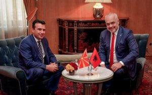 Ράμα σε Ζάεφ: Θα ευνοηθεί η μειονότητα της Βόρειας Μακεδονίας στην Αλβανία