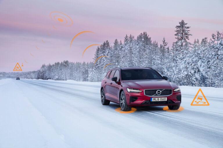 Επικοινωνία μεταξύ των Volvo για ασφαλέστερη μετακίνηση