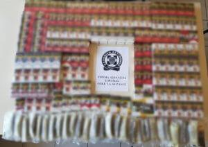 Πτολεμαϊδα: Μετέτρεψε το σπίτι του σε αποθήκη λαθραίων τσιγάρων και αφορολόγητου καπνού [pics]