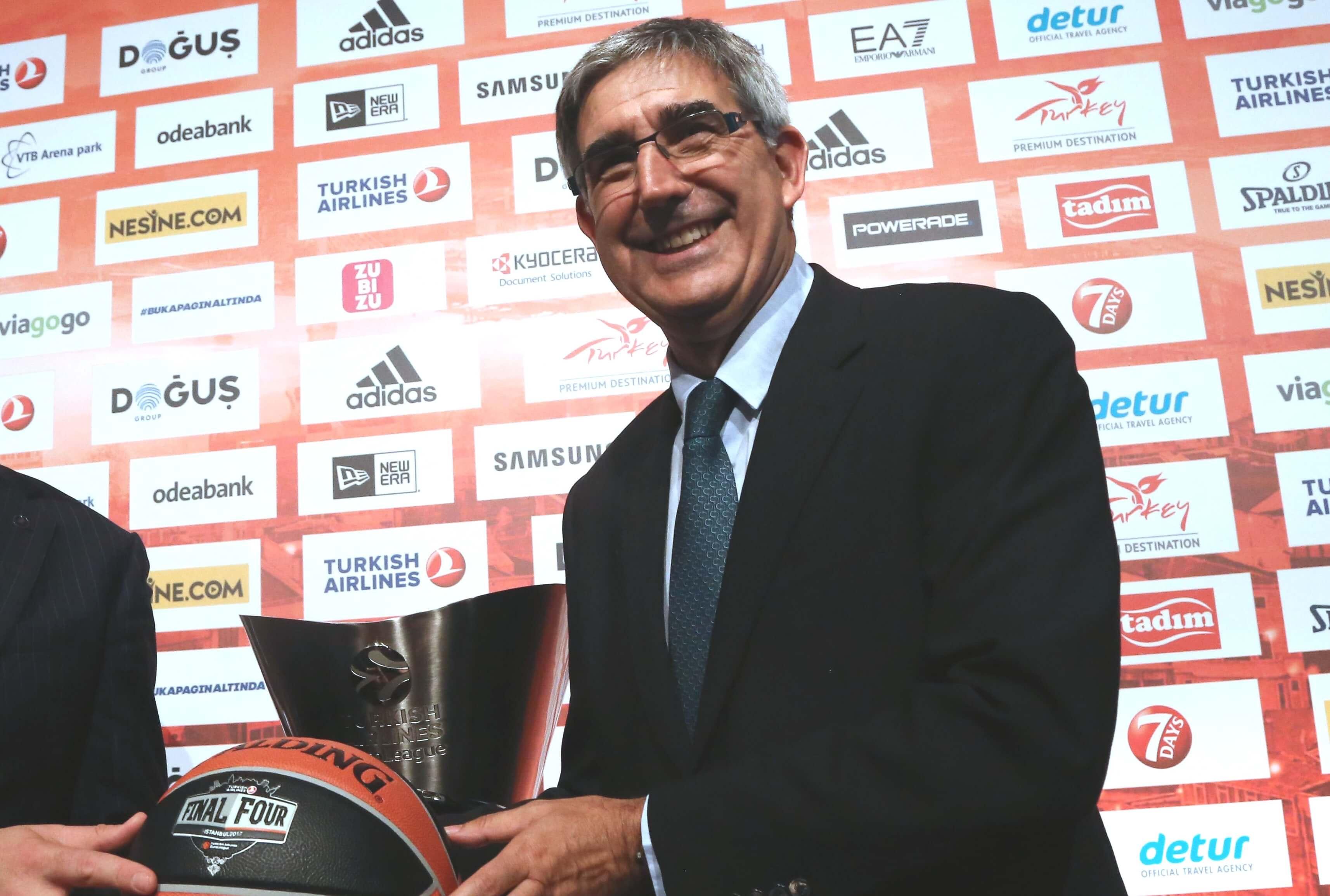 Μπερτομέου: «Αργά ή γρήγορα η Αθήνα θα διοργανώσει Final 4 της EuroLeague»