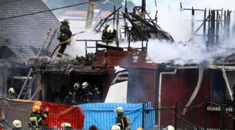 Τραγωδία στη Χιλή! Αεροπλάνο έπεσε σε σπίτι – Τουλάχιστον 6 νεκροί!