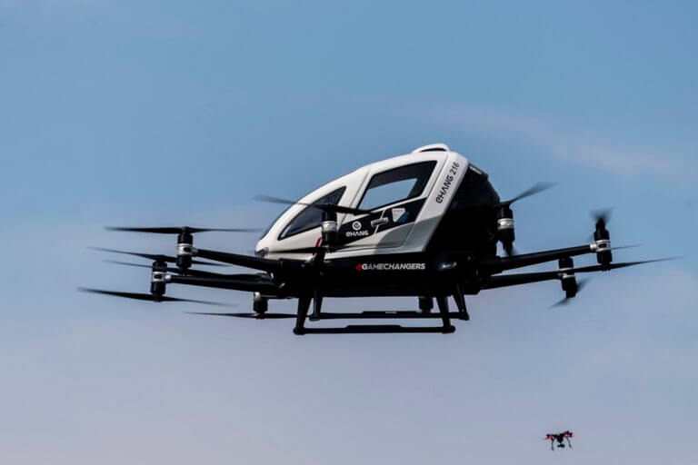 Έρχεται το ιπτάμενο ταξί – Παρθενική βόλτα για δημοσιογράφους στη Βιέννη